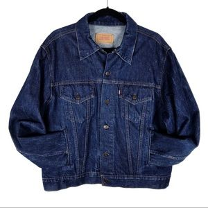 Levi's Vintage Dark Denim Trucker Jacket